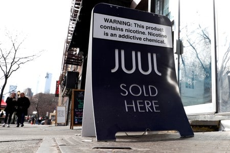 Juul warned by FDA over marketing practices