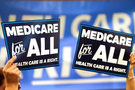 Where the top Democratic U.S. presidential candidates stand on 'Medicare for All'