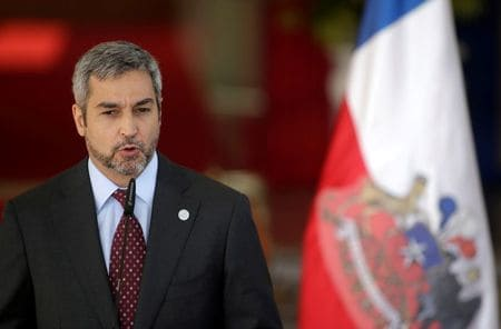 Paraguay's President Abdo contracts dengue fever amid outbreak
