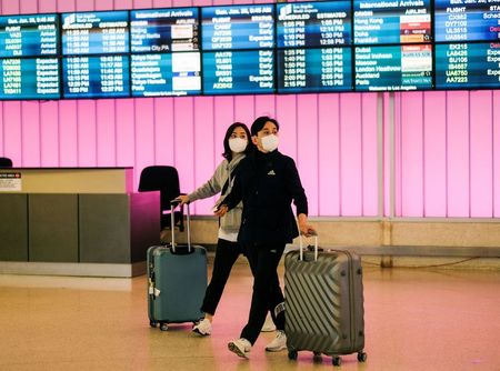 U.S. considering China travel curb options amid virus outbreak: health officials