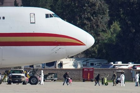 U.S. evacuees from China placed on 72-hour 'hold' at California military base for medical evaluation