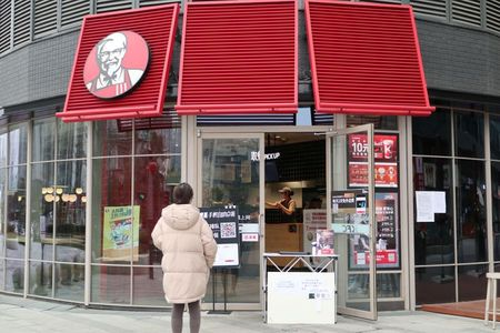 Fast-food companies in China step up 'contactless' pickup, delivery as coronavirus rages