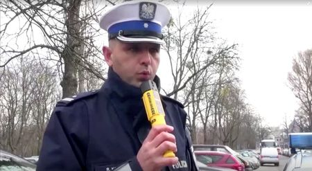 Polish police limit some drink-driving tests due to coronavirus