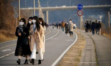 Mayor in virus-hit South Korean city says outbreak may be slowing