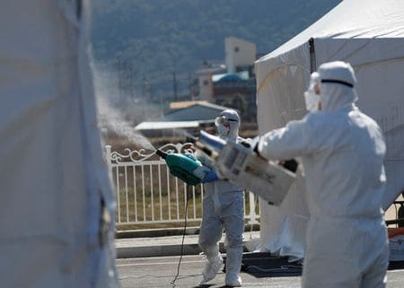 South Korea reports more recoveries than coronavirus cases for the first time