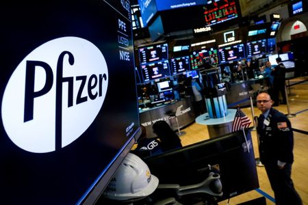 Pfizer puts off investor day, reports two late-stage study results in advance