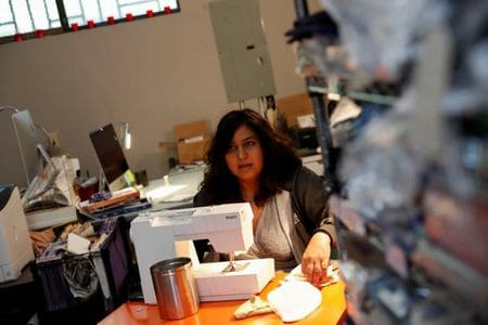 Sewing machines become latest weapon against coronavirus as California volunteers swing into action