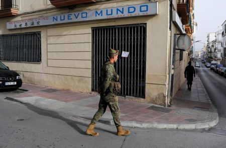 Who let the dogs out? A few Spaniards defy coronavirus lockdown