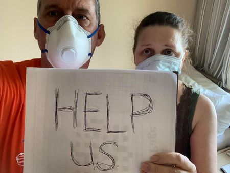 'Help us': After deaths on coronavirus-hit ship, guests clamor to leave