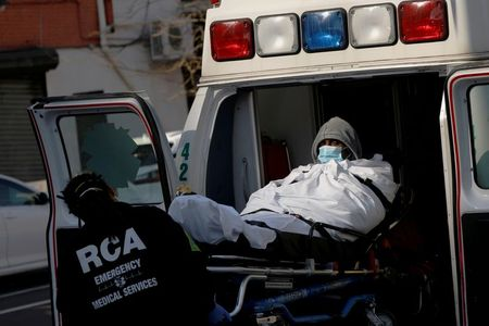 Coronavirus outbreak is stretching New York's ambulance service to breaking point