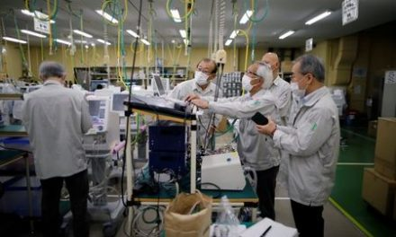 Japan animal ventilator maker looks to boost output for human coronavirus patients