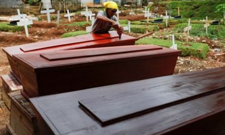 Jakarta coffin maker faces gruelling days as coronavirus death toll climbs