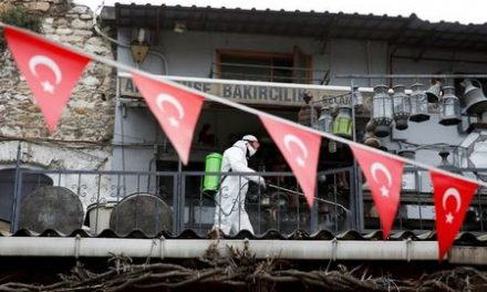 Turkey's coronavirus death toll rises by 125 to 1,643: health minister