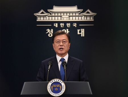 South Korea's Moon warns of COVID-19 second wave as cases rebound