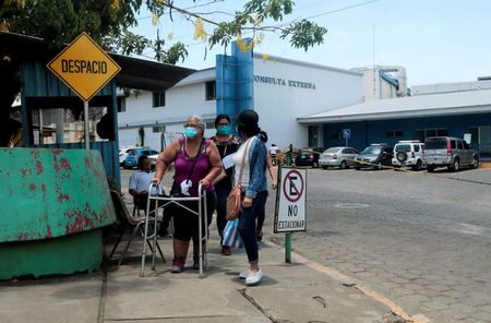 Packed hospital wards cast doubt on Nicaragua's low coronavirus count, doctors say
