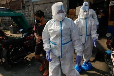 Philippines records 21 new coronavirus deaths, 268 more infections