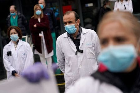 Spain's daily coronavirus death toll rises, potential second wave feared