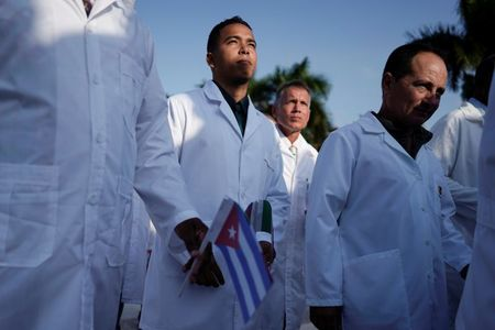 Large contingent of Cuban doctors help Mexico with coronavirus: sources