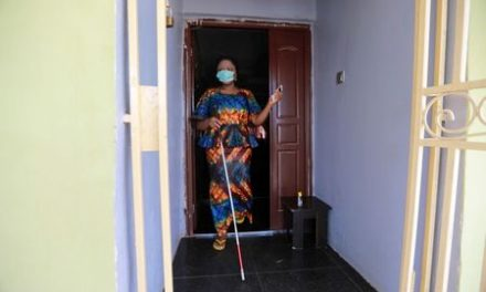 Visually impaired Nigerians struggle to navigate coronavirus challenges