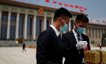 Delegates at China's virus-delayed congress tested and masked