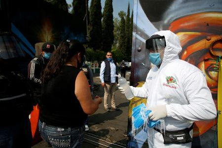 Mexico reports another single-day record for coronavirus deaths