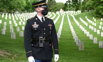 Americans make low-key Memorial Day tributes, coronavirus overshadowing events