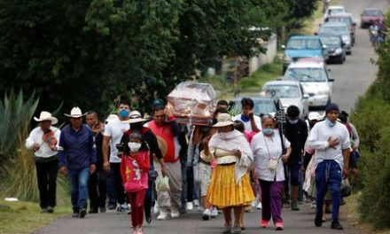 Study shows 8,000 additional deaths in Mexican capital as coronavirus rages
