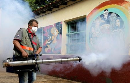 Paraguay dengue fever death toll rises to 34