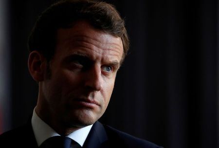 Macron visits Marseille doctor working on COVID-19 drug touted by Trump