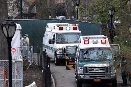 New York 'cautiously optimistic' with first daily drop in ICU COVID-19 patients