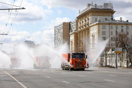 Moscow restricts Easter week church service as coronavirus cases mount
