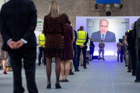 Prince William opens new UK emergency COVID-19 hospital
