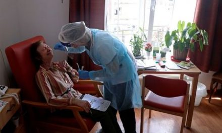 Mass COVID-19 testing underway at stricken Belgian care homes