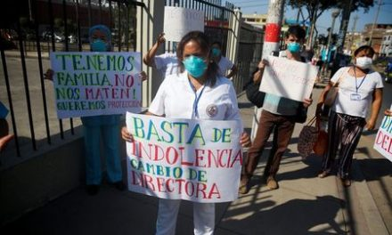 Masks reused and bodies mount as Peru strains under coronavirus