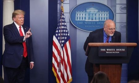 Trump has CDC director clarify remarks on second virus wave
