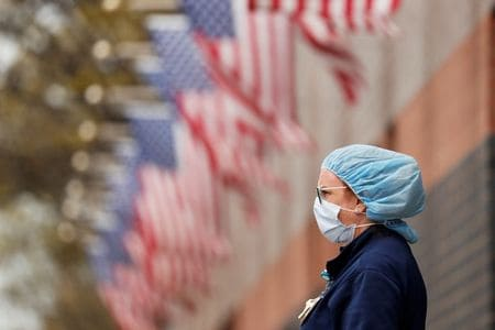 U.S. coronavirus deaths projected at over 74,000 by August